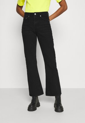SWAY JEANS - Flared Jeans - washed black