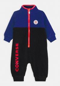 Converse - ZIP COVERALL - Tuta jumpsuit - black - 0