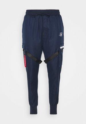 COMBAT TECH CARGO PANTS - Pantaloni cargo - navy