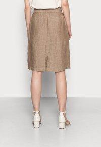 Opus - RAILA - A-line skirt - maple - 2