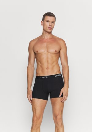 MEN BACK IN SESSION BOXER BRIEF 3 PACK - Bokserit - black