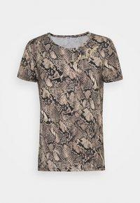 Liu Jo Jeans - MODA - Print T-shirt - beige - 0