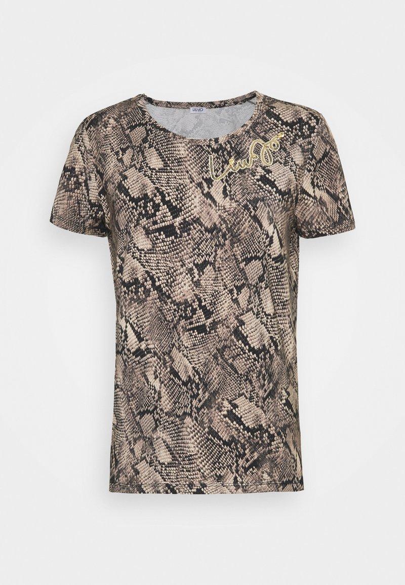 Liu Jo Jeans - MODA - Print T-shirt - beige