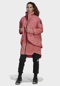 adidas Performance - MYSHELTER 4IN1 - Parka - pink - 6