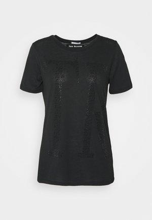 CREW NECK - Print T-shirt - black
