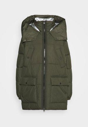 Winter coat - khaki/oliv