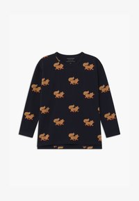 TINYCOTTONS - FOXES TEE UNISEX - Long sleeved top - navy/camel - 0