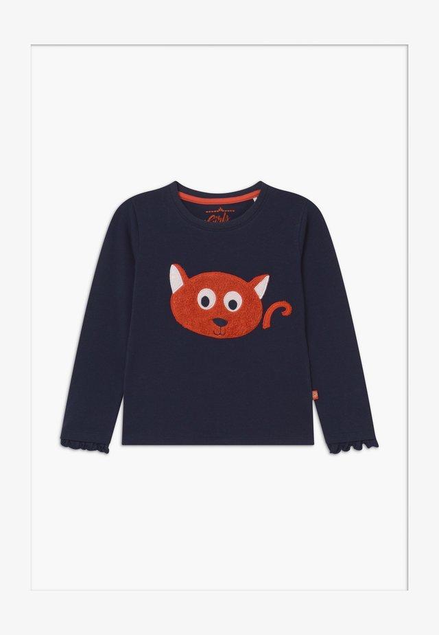 SMALL GIRLS - Pitkähihainen paita - navy blazer