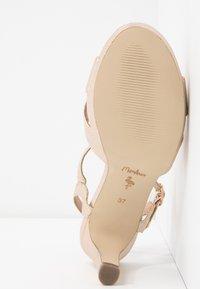Menbur - High heeled sandals - stone - 6