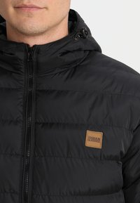 Urban Classics - BASIC BUBBLE JACKET - Veste d'hiver - black - 3