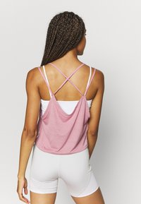 Puma - STUDIO STRAPPY TANK - Funktionsshirt - foxglove heather - 2