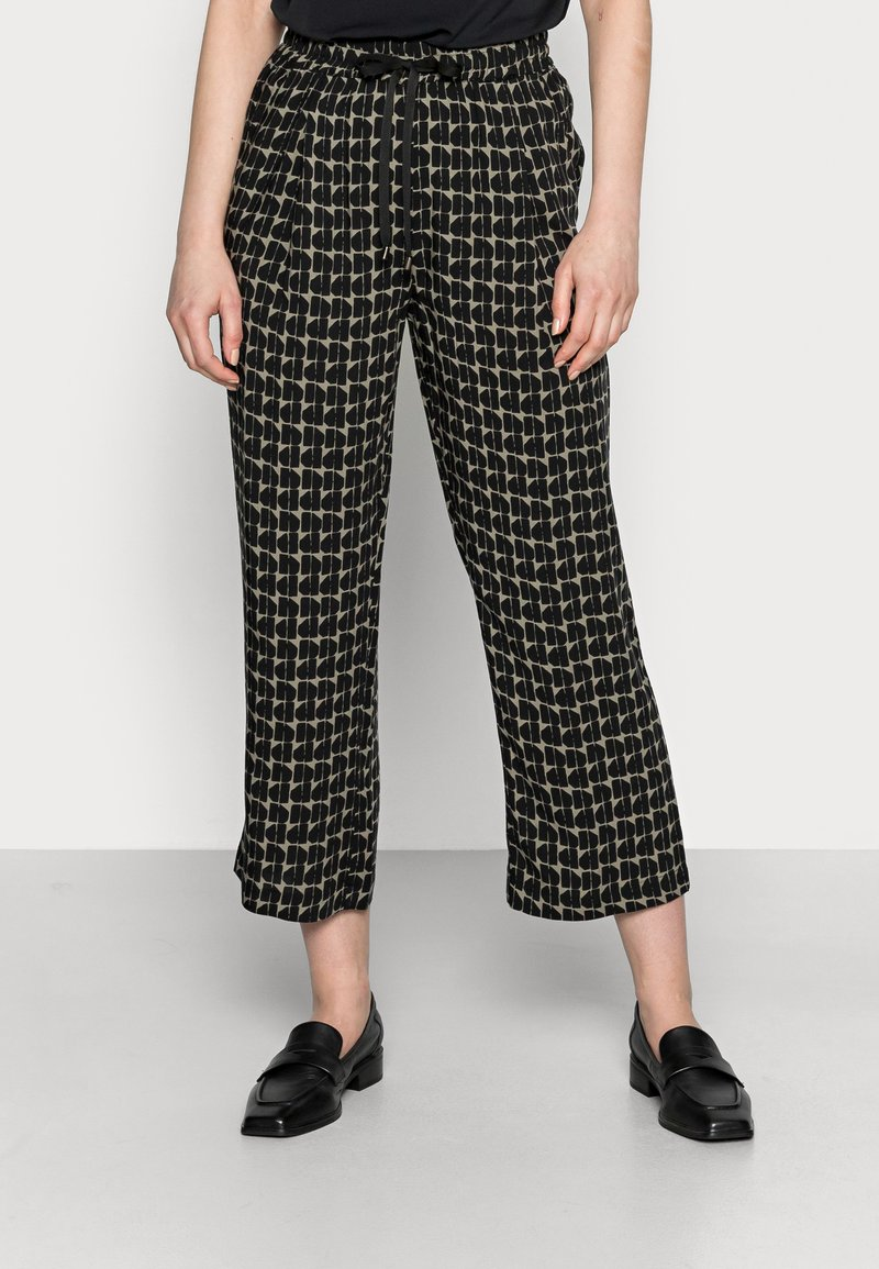 Opus - MAHOLA ABSTRACT - Trousers - soft moss