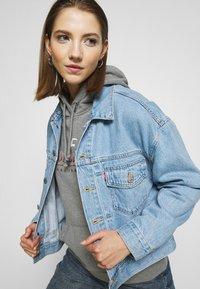 Hollister Co. - SECONDARY TECH CORE  - Hoodie - grey - 3