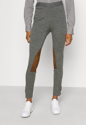 JOD ANKLE FLAT FRONT - Trousers - heather stylem