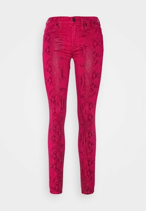 CROPPED BOOT - Kalhoty - pink