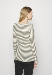 Marc O'Polo - LONG SLEEVE - Long sleeved top - multi/dried sage - 2