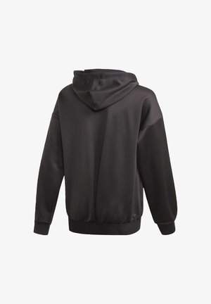 UP2MV AEROREADY LOOSE HOODIE - Bluza rozpinana - black