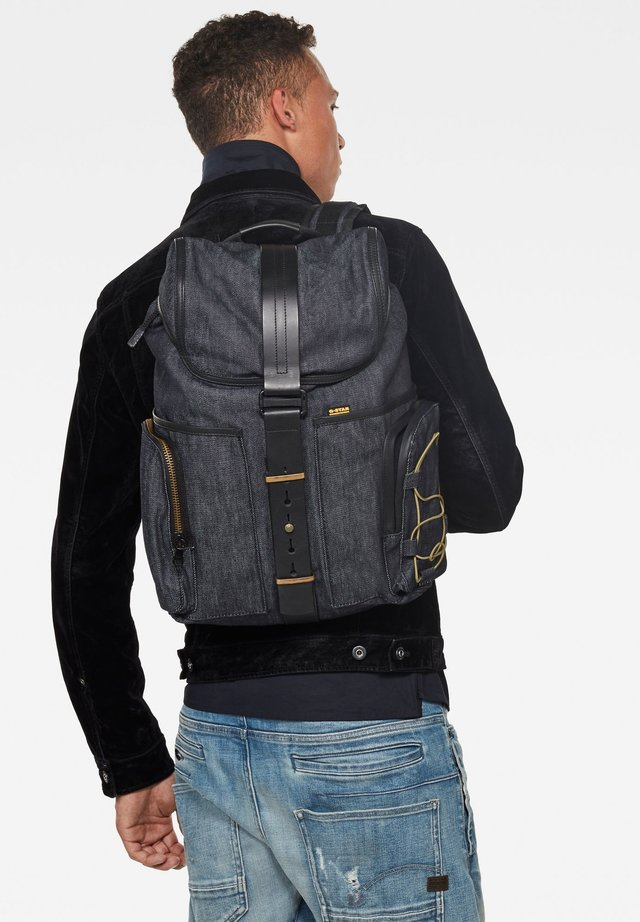 VAAN DAST BACKPACK - Rugzak - raw denim