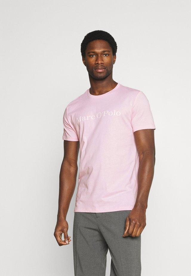 SHORT SLEEVE - T-shirt con stampa - mauve/chalk
