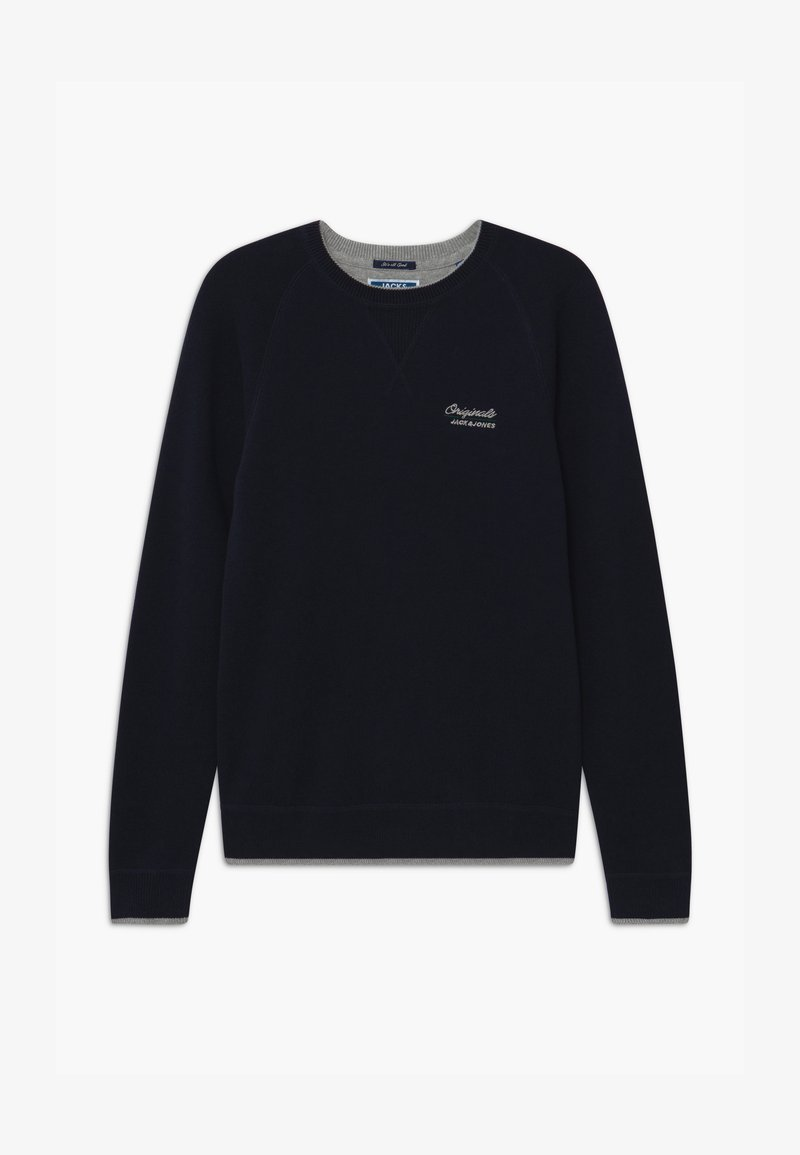 Jack & Jones Junior - JORJOES CREW NECK - Svetr - sky captain