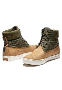 Timberland - 2.0 CUPSOLE EK+ - Sznurowane obuwie sportowe - wheat nubuck - 2