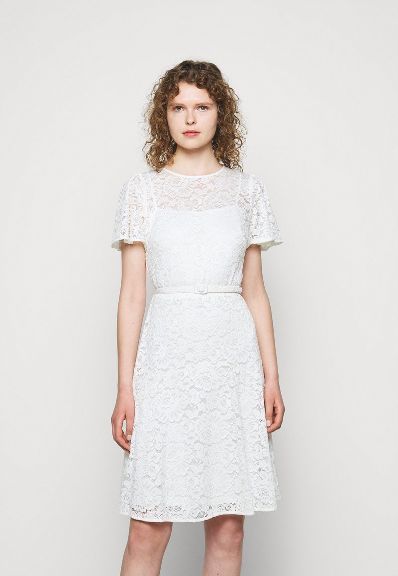 Lauren Ralph Lauren - GORDON STRETCH DRESS - Cocktail dress / Party dress - white