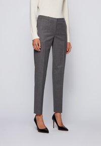 BOSS - TILUNI - Trousers - grey - 0