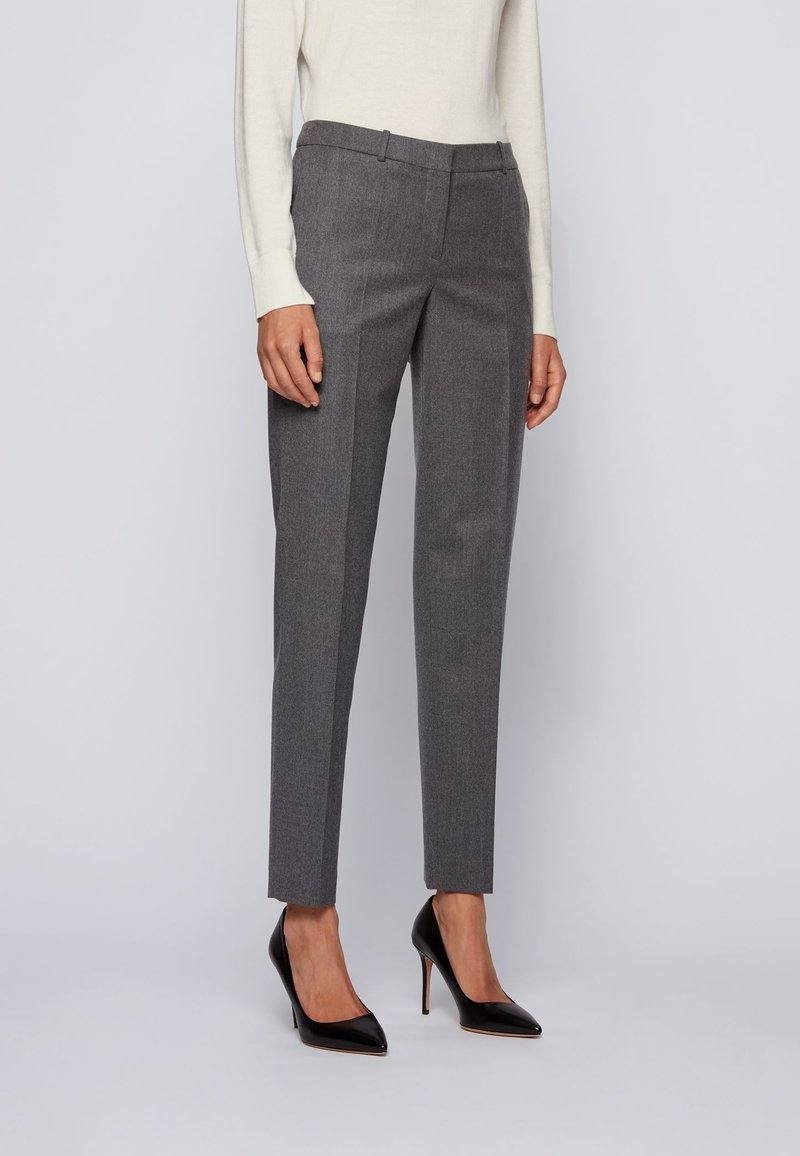BOSS - TILUNI - Trousers - grey