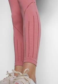 ONLY Play - ONPJAVA CIRCULAR - Tights - dusty rose - 3