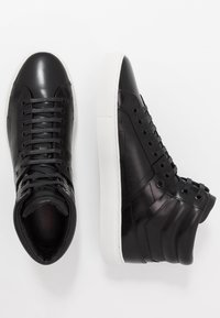 HUGO - FUTURISM - Sneakersy wysokie - black - 1
