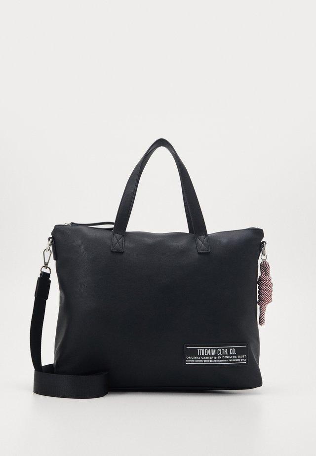 LEVINA - Bolso shopping - black