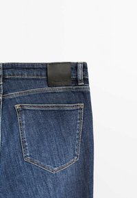 Massimo Dutti - Jeans fuselé - dark blue - 3