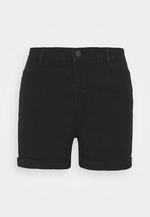 VMHOT SEVEN FOLD MIX  - Denim shorts - black