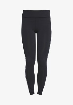 UA FAVORITE LEGGING BRANDED - Punčochy - black/onyx white