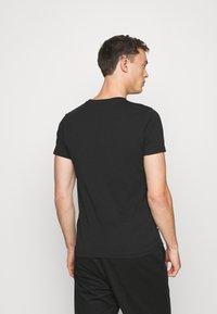 LTB - 2 PACK  - Basic T-shirt - black - 3