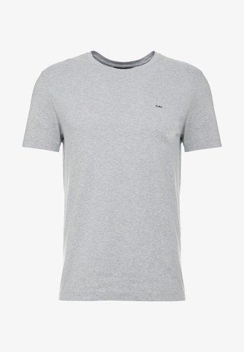 SLEEK CREW NECK  - T-paita - heather grey