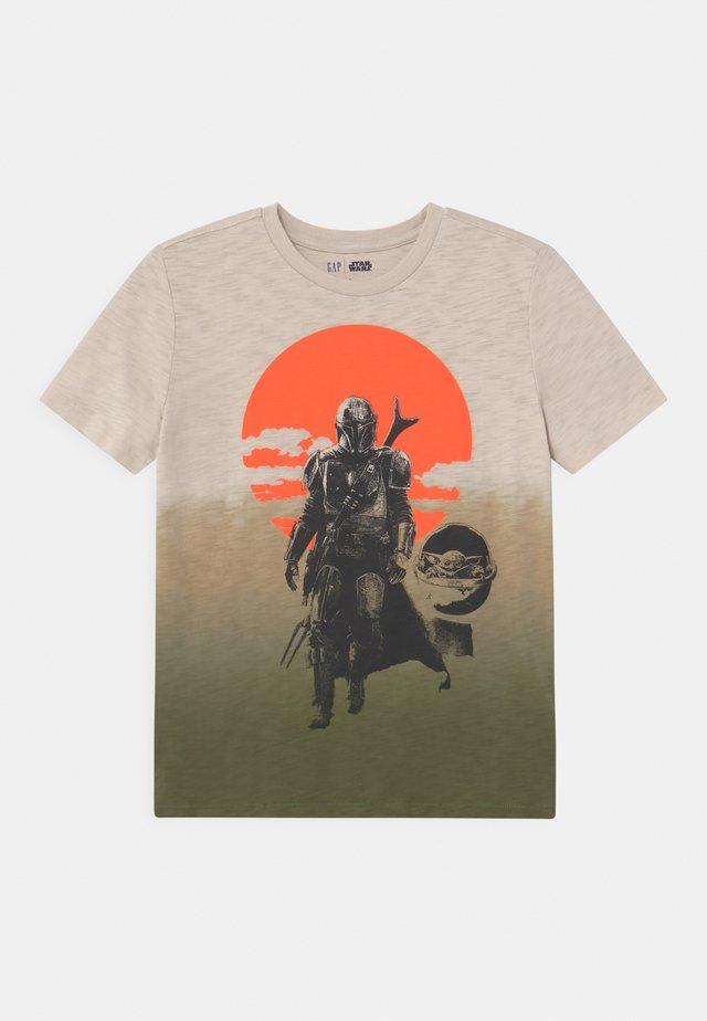 BOY STAR WARS - T-shirt med print - green