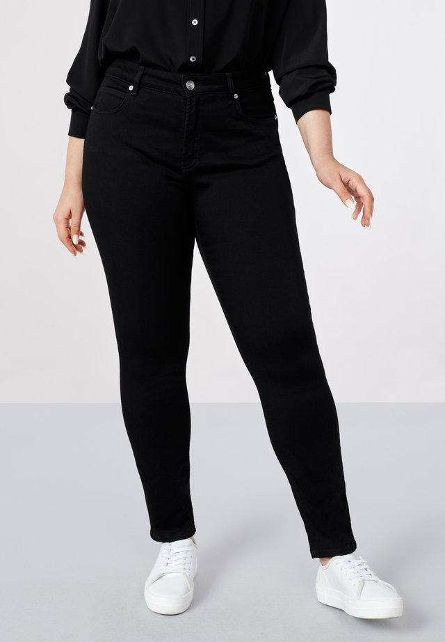 Slim fit jeans - black black