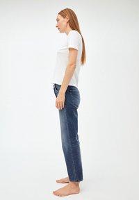 ARMEDANGELS - FJELLAA CROPPED - Straight leg jeans - used blue - 3