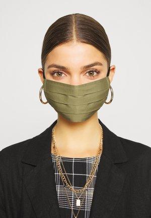 3 PACK - Látková maska - grey/black/khaki