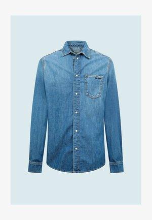 PORTER - Camisa - denim