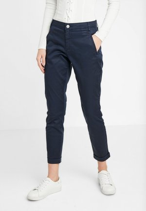VICHINO RWRE 7/8 NEW PANT-NOOS - Džíny Straight Fit - total eclipse