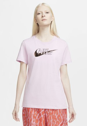 ICON CLASH  - T-shirt con stampa - light arctic pink