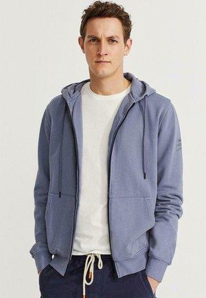 Zip-up sweatshirt - azul