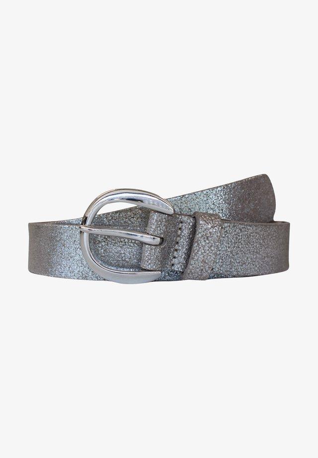Bælter - silber metallic