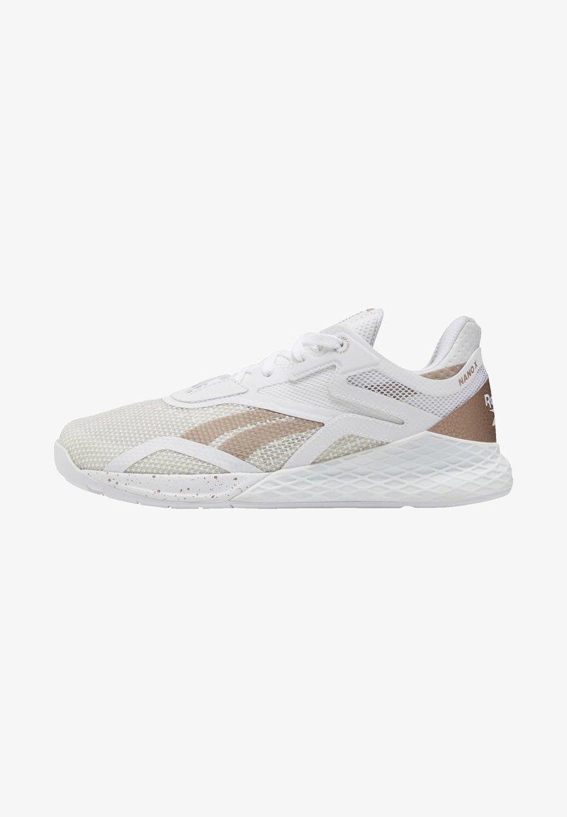 Reebok - REEBOK NANO X SHOES - Sneaker low - white