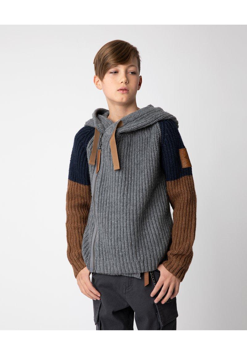 Gulliver - Cardigan - grey melange