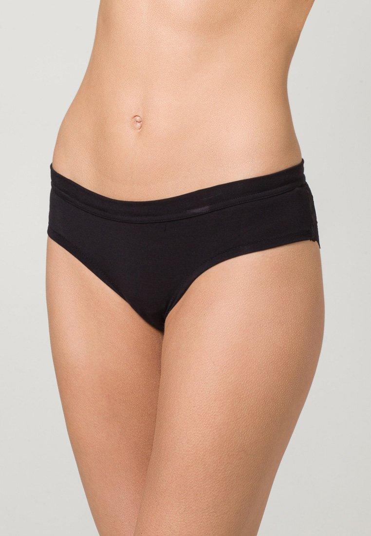 LASCANA 2 PACK - Panties - red/black/rot u5PSRK