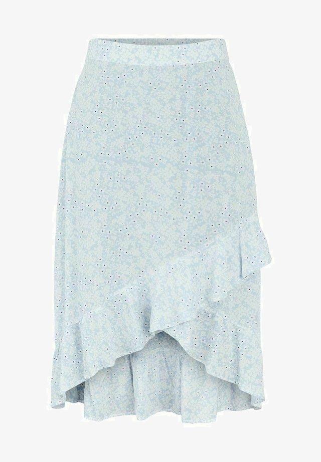 Spódnica trapezowa - kentucky blue