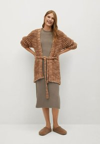 Mango - SOFA-A - Jumper dress - beige - 1